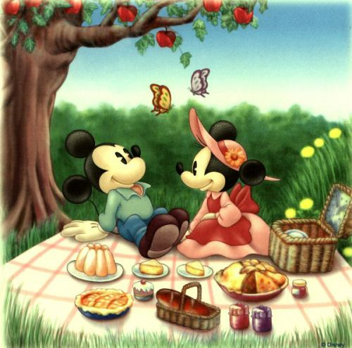 Cute Mickey & Minnie!!!