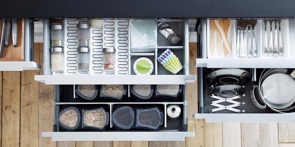 Kitchen Storage By Ikea