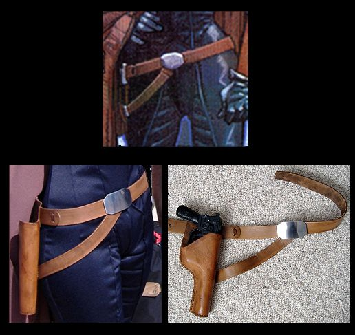 DIY Mara Jade belt