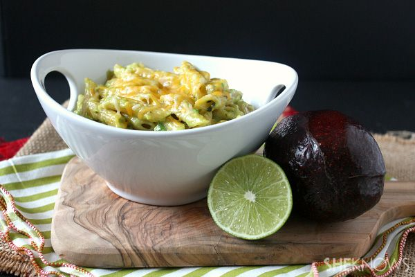 Avocado mac and cheese (To look at later to work on converting to GF ...