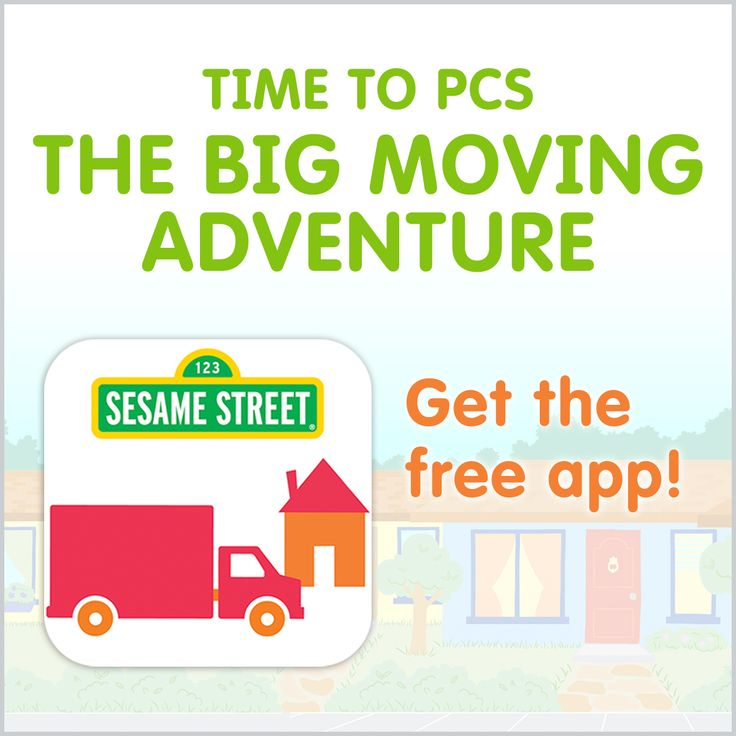 Help your kids get ready for your next move! By