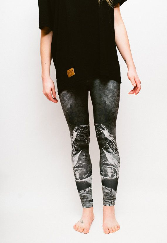 SMALL Art Print Leggings ''After the T-Bar  by HeidiTheArtist