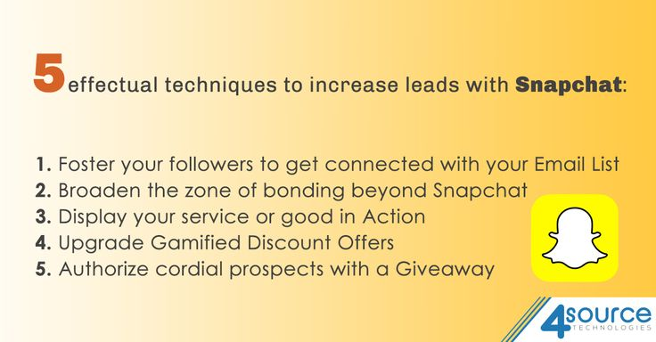 User of Snapchat? Need more leads? Fulfill your demand with some exclusive ideas.