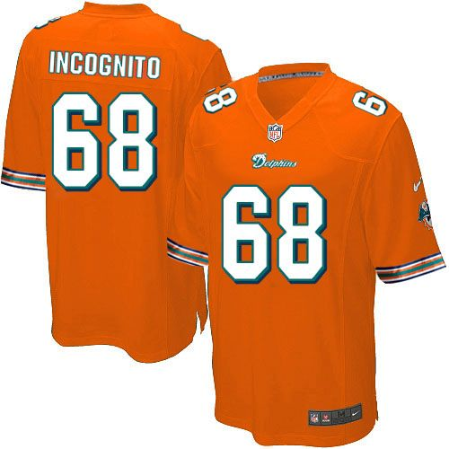 ... nike miami dolphins mens orange jersey 68 game richie incognito nfl  jersey sale ... d16a5511d