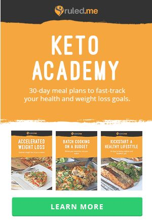 Ruled Me - great site for Keto recipes! Check out the Keto Academy!