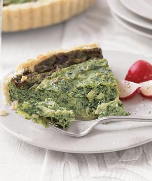 Simple Spinach Quiche | undefined