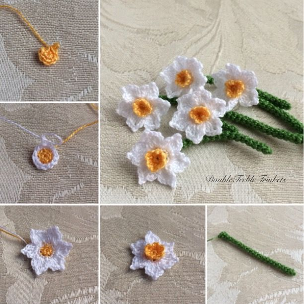 Knitted Daffodil Free Pattern Daffodils Knitting Patterns And Flower
