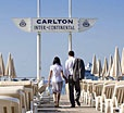 CARLTON INTERCONTINENTAL CANNES - One of the Ritziest hotels in the Riviera. The restaurant serves excellent food and it's a great place to people watch. 58 LA CROISETTE, CS 40052 • CANNES, 06414 • France  Front Desk: +33-4-93064006 • Fax: +33-4-93064025