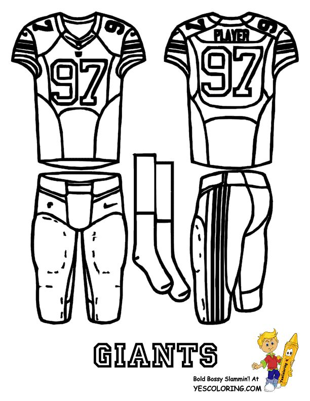 39 best Fearless Free Football Coloring Pages! images on Pinterest ...