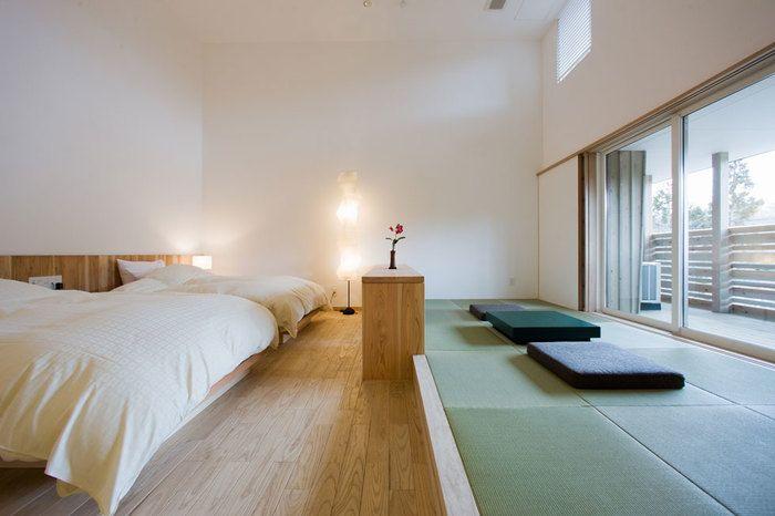 インテリアのお手本にしたくなるような、和と洋が見事に調和した、シンプルでナチュラルなお部屋。