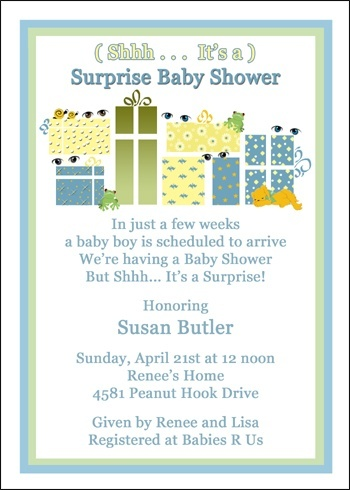Most Popular And Discount Invitations For Surprise Baby Shower Party  Online. Let Us Help With Your Baby Shower Surprise Invitation Planning,  With Same Day ...