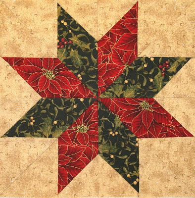 Neighborhood Quilt Club: Eight Pointed Star Tutorial