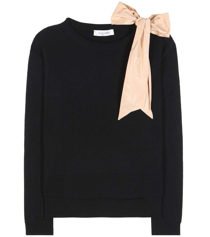 mytheresa.com -  Wool-blend sweater - Valentino - Designers - Luxury Fashion for Women / Designer clothing, shoes, bags