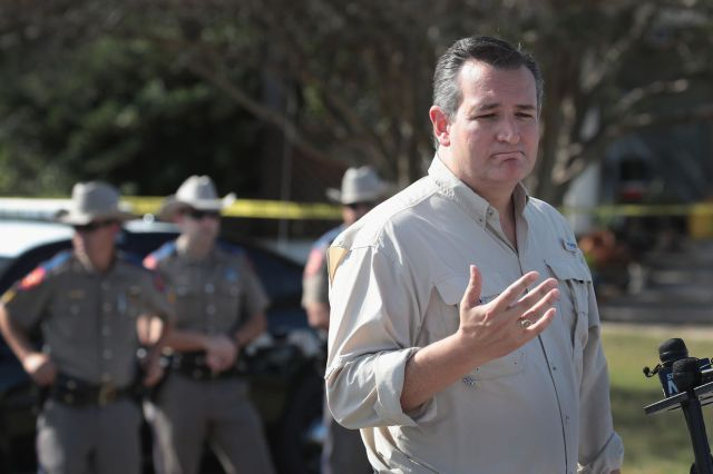 Ted Cruz accidentally explained Americas gun problem in one sentence
