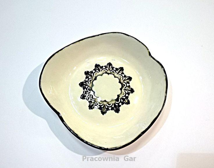 porcelain bowl , handmade , artceramic