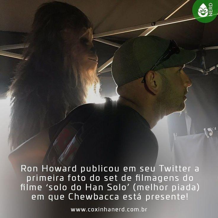#CoxinhaNews Ron Howard publicou em seu Twitter a primeira foto do set de filmagens do filme solo do Han Solo (melhor piada) em que Chewbacca está presente! O filme do Han Solo tem previsão de estreia para Maio de 2018! Ansiosos?? [Imagem Chewbacca de lado no set de filmagens bem mais novo já que o filme se passa durante a juventude de Han Solo] #timelineacessivel #pracegover   TAGS: #coxinhanerd #nerd #geek #geekstuff #geekart #nerd #nerdquote #geekquote #curiosidadesnerds…