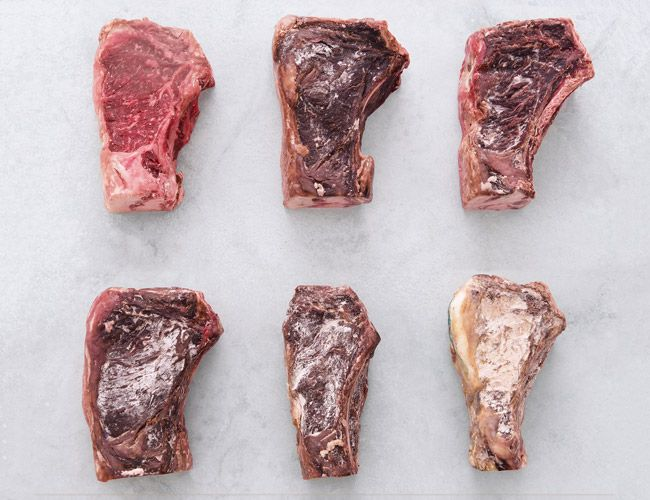 "Butcher Pat LaFrieda explains how dry-aging beef works. From ""Meat: Everything You Need to Know."""
