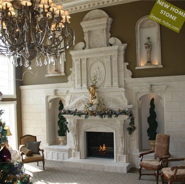 144 best Fireplaces images on Pinterest | Fireplace mantels ...