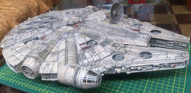 AMT-ERTL Millennium Falcon build from Peru     | My Millennium