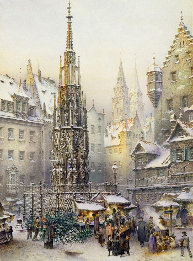 Nuremberg / Nürnberg Advent Calendar in 2020 Christmas