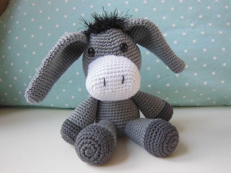 Duncan the donkey <3 gehaakt ezel Duncan <3