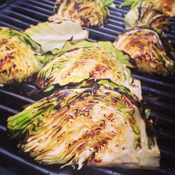 Grilled Cabbage Photo By America S Test Kitchen Food