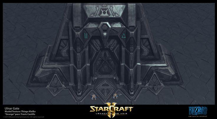 Starcraft II LotV: Xel'Naga Gate, Thiago Klafke on ArtStation at https://www.artstation.com/artwork/q01b2