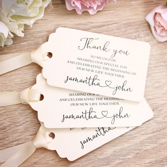 Personalized Wedding Tags Wedding Favors Custom Gift Tags Etsy Wedding Gift Tags Wedding Favor Gift Tags Wedding Favor Tags