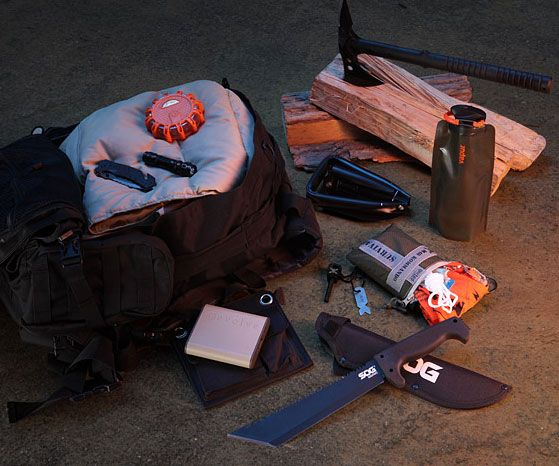 Bug Out Bag -- Increase your odds of durability when all hell gap baggy by keeping this bug out bag handy at all times. Ideal for the coming apocalypse, it comprise business you'll need to generate it on your own when company crumbles previously your very own eyes.
