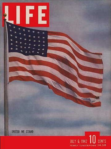 American Flag Life Magazine July 6 1942 Issue Visit