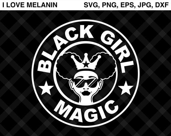 Black Girl Magic Coffee Svg Vector Png Eps Jpg Dxf Silhouette Cricut Living My Best Life African Americ Silhouette Cameo Projects Coffee Svg Black Girl Magic