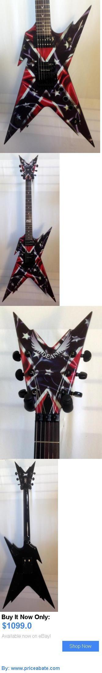 musical instruments: Dean Dimebag Razorback Rebel Electric Guitar W/ Hardshell Case BUY IT NOW ONLY: $1099.0 #priceabatemusicalinstruments OR #priceabate