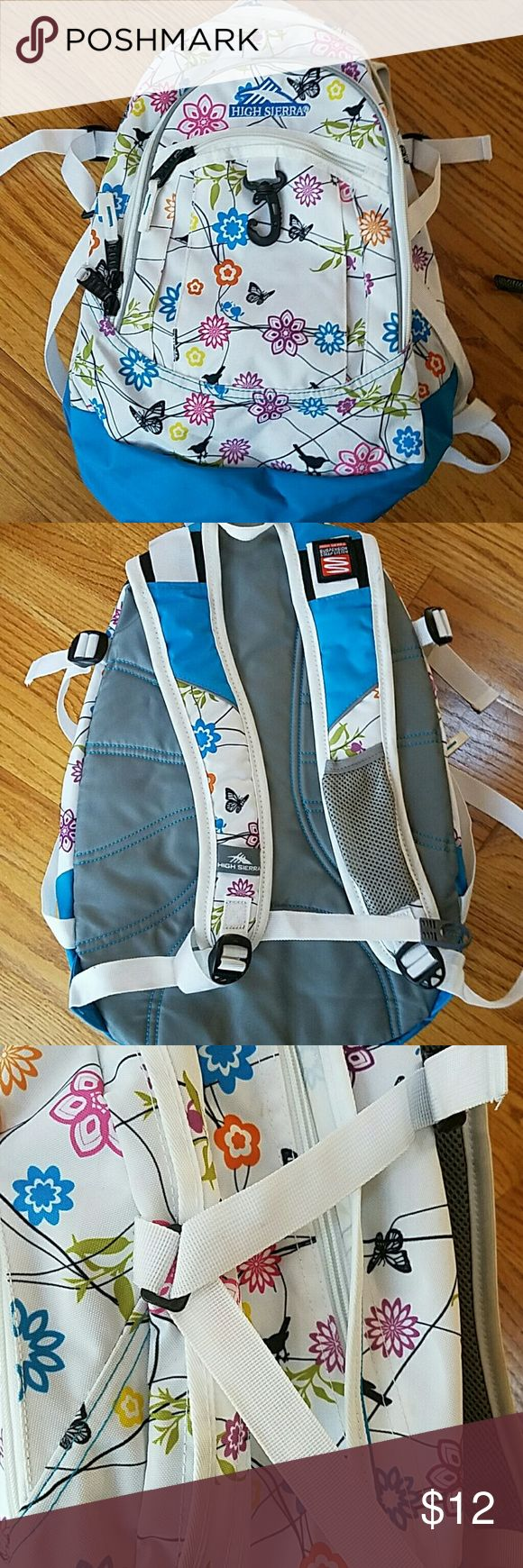High Sierra Backpack Great Shape, a little dirt on outside, perfectly clean on inside, just wipe it up, priced to sell High Sierra Bags Backpacks