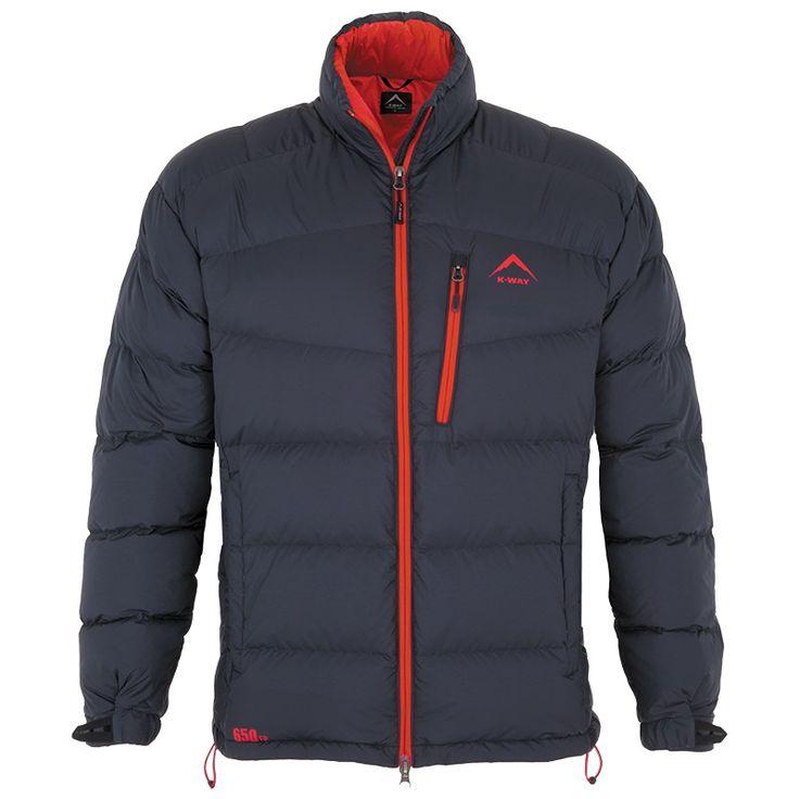 K-Way Men's Siberia Down Jacket