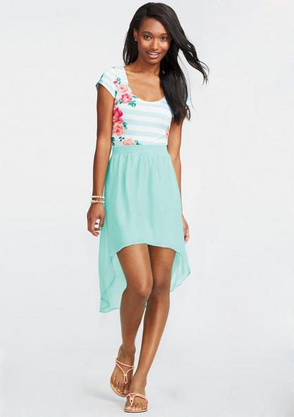 Fashion week How to chiffon wear high low skirt for girls