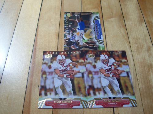 Tyler Gaffney Bene Benwikere 2014 Upper Deck Carolina Panthers Draft 3 Card Lot | eBay