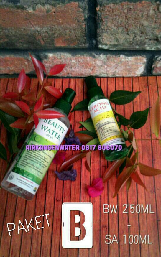 Hub. Ibu RA Dewi W. Kartika 0817808070(XL), Jual Kangen Beauty Water, Jual Beauty Water Malang, Beauty Water Spray, Review, Strong Acid Water Spray, Jerawat