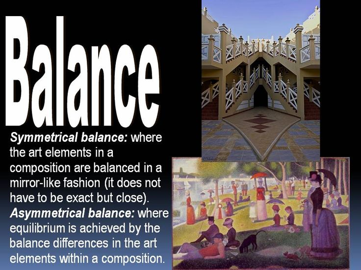 Elements Of Art Balance : Best images about theorie elements of art on pinterest