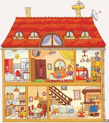 dollhouse painting ideas - Buscar con Google