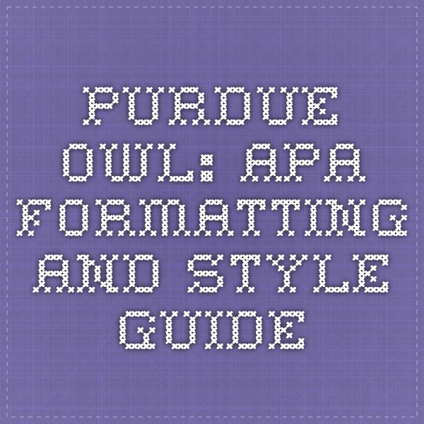 research paper owl edu Grammar lessons and exercises from the purdue university owl  own writing,  introducing quotes in a research paper, and making your writing nonsexist.