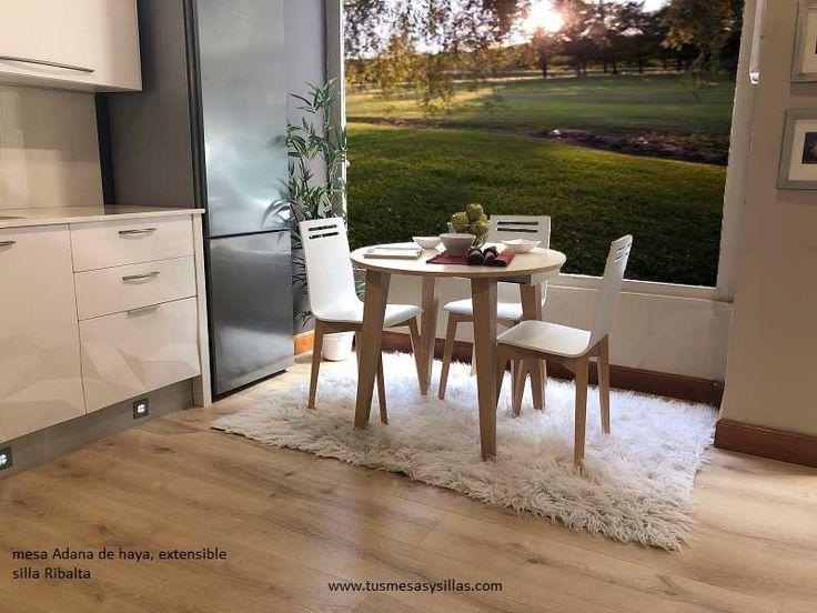 39 best adana la mesa de estilo nordico redonda cuadrada for Mesa circular extensible