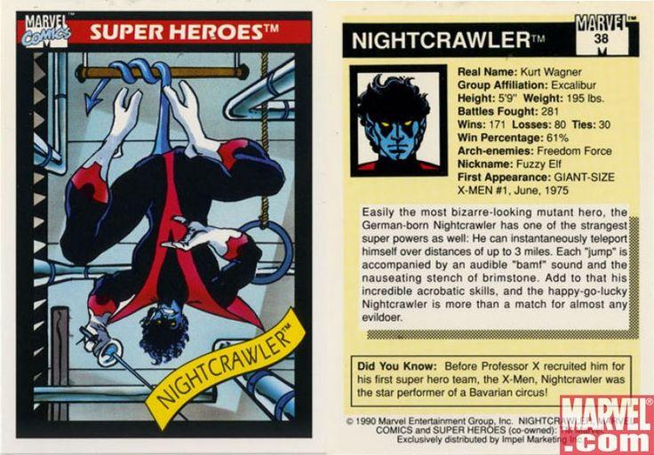 Make mine marvel marvel universe trading cards series 1