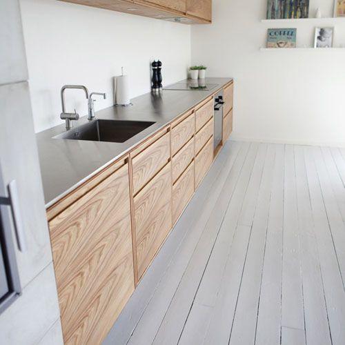 36 best tarima en cocinas images on pinterest kitchens walk in and flooring - Tarima para cocina ...