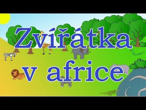 (9) Zvířátka v africe - animované zvuky zvířat pro děti a nejmenší - zvuky zvířat žijících v africe - YouTube