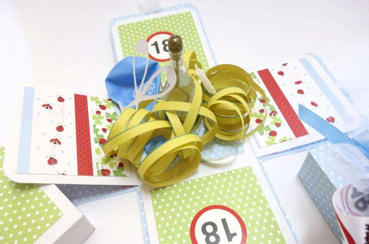 Geldgeschenk+zum+18.+Geburtstag+Geschenkverpackung+von+blattsalat+auf+DaWanda.com