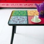 Handmade tile table, Ideas.co.za