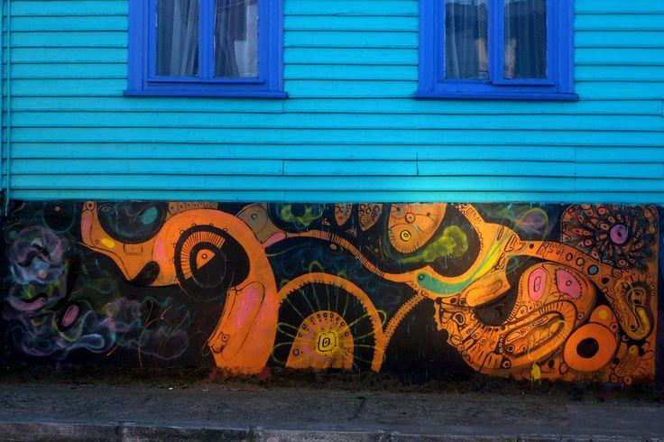 Graffity Valdivia By Robinson Silva