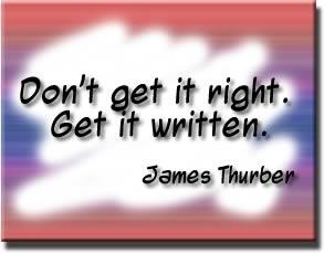 Get it written