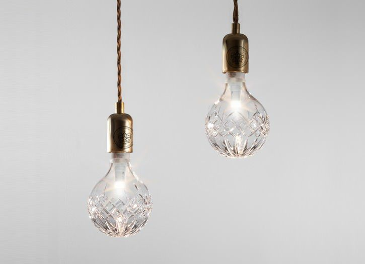 Crystal bulbs from Lee Broom.