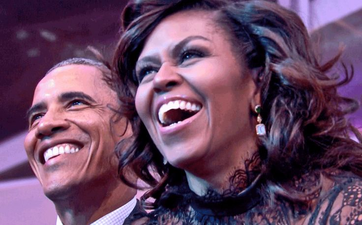 The Obamas Celebrate 'Love & Happiness,' Look Great Doing So